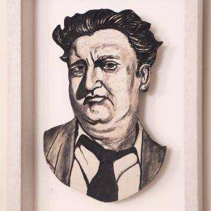 Brendan Behan, framed  42cm X 31cm €350